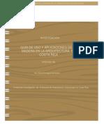 Guía Madera de Usos y Aplicaciones de La Madera
