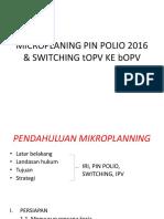 Strategi Operasional Dan Microplanning