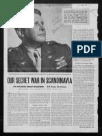 Balchen, Bernt Re Scandinavia WW2