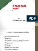 Pert-2 Asas Dan Prinsip Pembelajaran