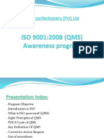 ISO 9001-2008 Awareness