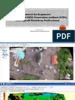 Pengolahan UAV Dengan Agisoft