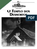O TemplO DOs DesmOrTOs - Old Dragon - Redbox Editora