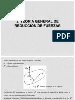 02. Teoría General de Reducción de Fuerzas