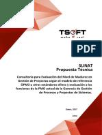 SUNAT Propuesta Técnica - Consultoría OPM3 y Funciones PMO