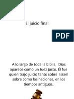 El Juicio Final