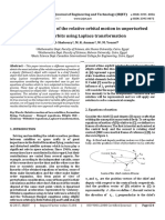 Analytical solution of the relative orbital motion in unperturbed elliptic orbits using Laplace transformation
