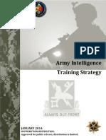 Army Intelligence Training Strategy 2014