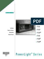 q Amp Powerlight Pl2ruseries Usermanual