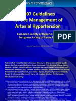 2007 Esh Esc Guidelines Slideset