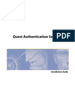 AuthenticationServices 4.0 InstallGuide