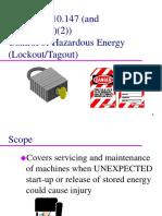 Lockout Tagout Presentation