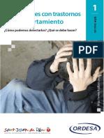 Adolescentes Con Trastornos de Comportamiento
