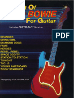 Best of David Bowie Guitar