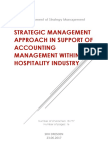 Strategy Management Accounting Written Composition