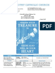 St. Timothy Parish Bulletin (August 8th, 2010)