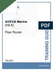 TM-2231 AVEVA Marine (12.1) Pipe Router Rev 2.0