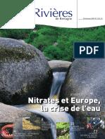 139 Eau & Rivières 139 - Printemps 2007 - Dossier Nitrates Et Europe