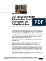 Cisco Catalyst Blade Switch 3130 for Dell and Cisco Catalyst Blade Switch 3032 for Dell Getting Started Guide