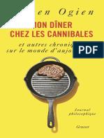 Mon Diner Chez Les Cannibales - Ogien, Ruwen