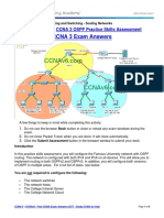 Scaling Networks (Version 6.00) - ScaN OSPF Practice Skills Assessment - PT Answers