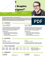 Astoria Resume Green Letter