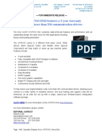 Exor ETOP310 New Product Press Release