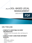 School-based Legal Management