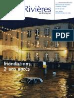 123 Eau & Rivières 123 - 1er Trim 2003 - Dossier Innondations 2 Ans Après