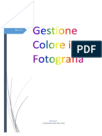 Gestione Colore in Fotografia