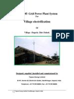 Solar Offgrid Case Study