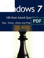 Windows 7 100 Most Asked Questions