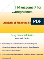 Financial Ratio Analysis2674