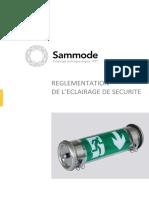 Brochure Reglementation Eclairage de Securite Sammode FR v120626