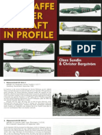 Luftwaffe Fighter Aircraft in Profile 1