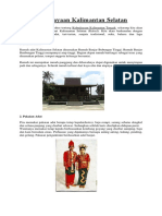 Kebudayaan Kalimantan Selatan