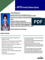 SAP BI Consultant - Eskalamuralikarthik