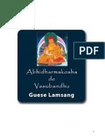 Vasubandhu Abhidharmakosha