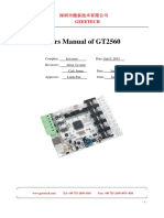 Users Manual of GT2560