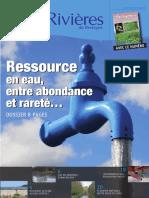 160 Eau & Rivières 160 - Juillet 2012 - Dossier Ressource en Eau