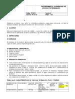 Pr08-Cc Procedimiento Empaque de Producto Alb y Oma