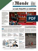 Le Monde & 2 Suppléments Du Mercredi 5 Juillet 2017