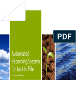 Automated Recording System for Jack in Pile