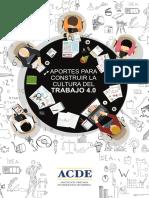 Aportes para construir la cultura del trabajo 4.0 - ACDE