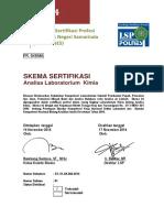 Skema Sertifikasi Analisa Laboratori Kimia 2
