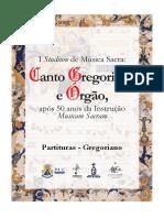 Partituras Gregoriano