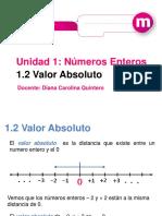 1.3 Orden de Los Numeros Enteros