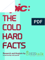 HIStalk Report Epic the Cold Hard Facts