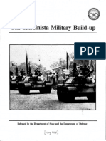 The Sandinista Military Build-up May 1985