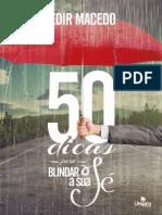 50 Dicas Para Blindar a Fé